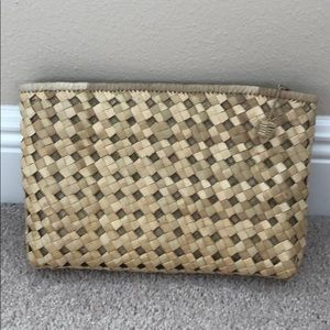 Handmade Straw Clutch